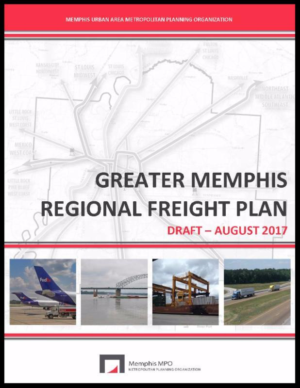 Greater Memphis Regional Freight Plan cover