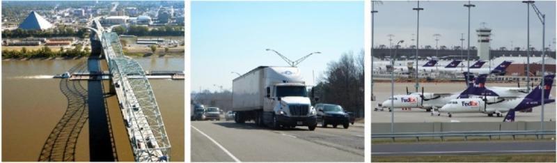 I-40 corridor in Memphis