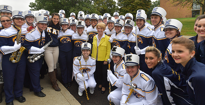 Kent State Golden Flashes Marching Band