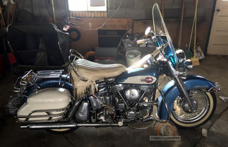 1959 Harley FLHF