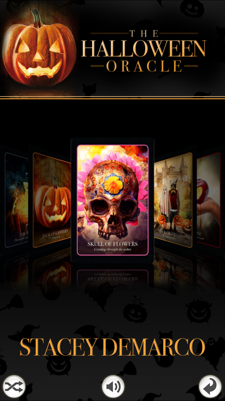Halloween Oracle now available as an app