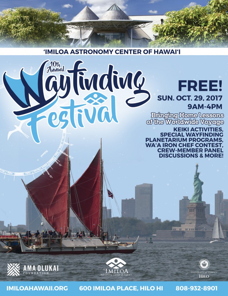 2017 Wayfinding Festival flyer
