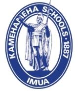 Kamehameha Schools logo