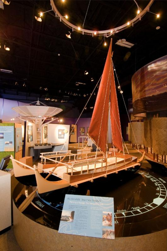 Exhibit Hall Canoe