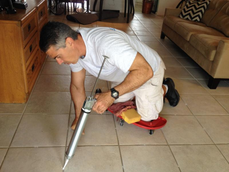 Pete Injecting Tile