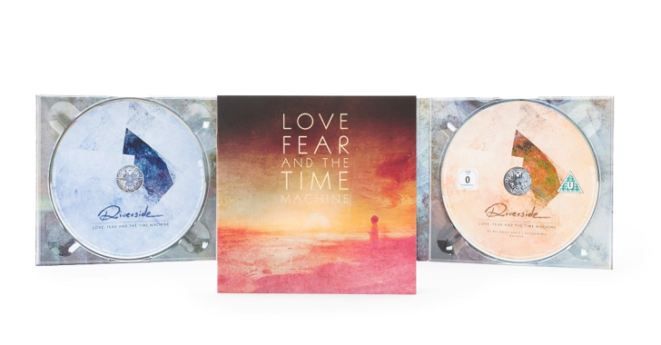 "RIVERSIDE - 5.1 mix edition of ""Love, Fear and the Time Machine"" out now; ""Eye Of The Soundscape"" release announced!"