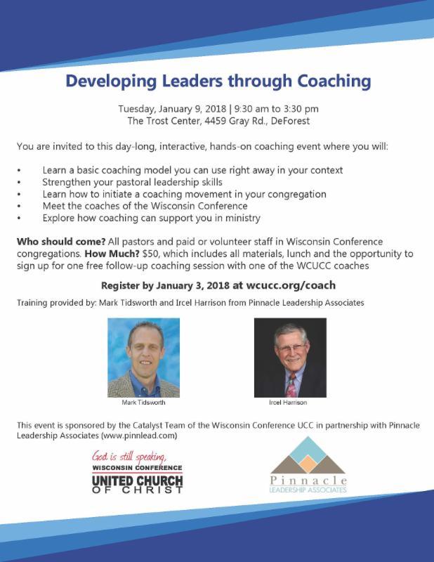 Coaching flyer image