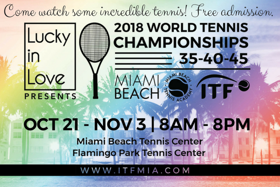 Save the Date – ITF World Championship Tennis is Almost here!