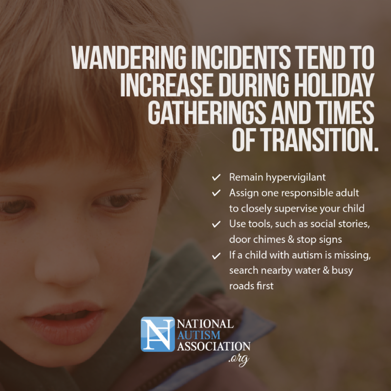 Image result for wandering incidents naa.org