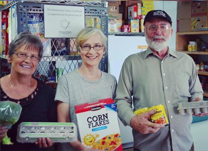 Volunteers at Madawaska Valley Food Bank