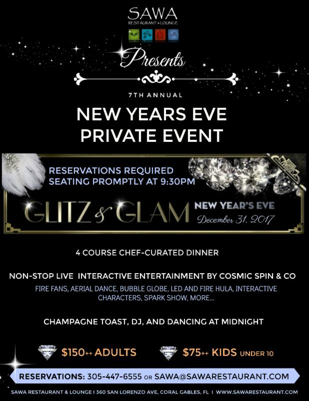 your private new years eve invitation