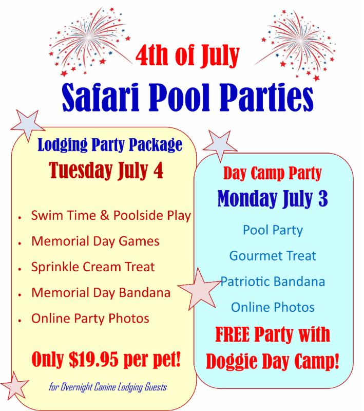 July 4th Pool Parties Free Pet First Aidcpr Class Garden Suites