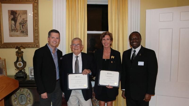 UF Award Recepients Leslee & Herschel