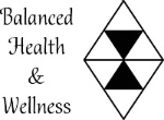 Balanced Health and Wellness Logo with Diamond
