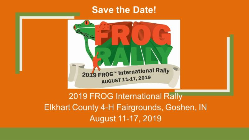 2019 FROG International Rally: August 11-17, 2019 - Forest