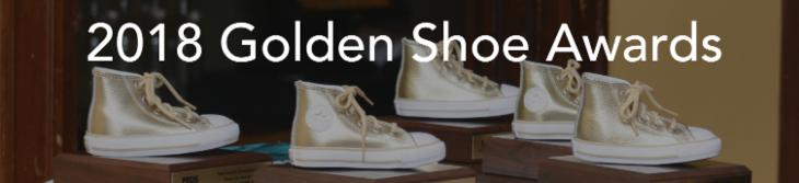 2018 Golden Shoe Awards banner