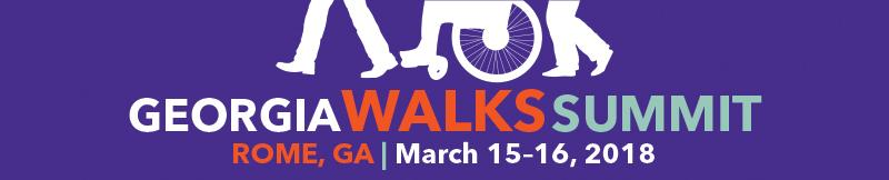 Georgia Walks Summit - 2018 banner