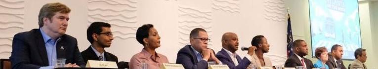 Mayoral candidatse at forum 2017