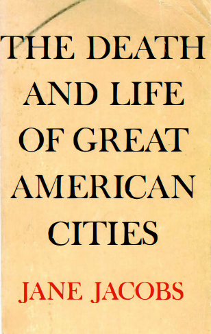 Life and Death of Great American Cities - book cover