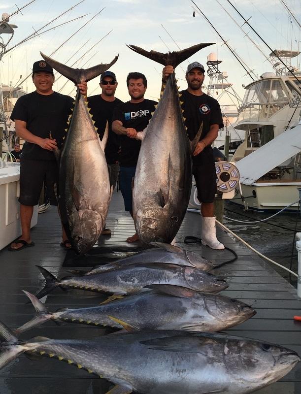Jersey shore fishing canyon tuna turning on for Nj shore fishing