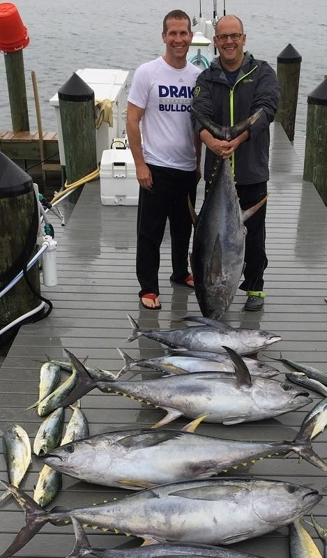 Jersey shore fishing tuna prospects looking up in canyons for Fishing expo nj