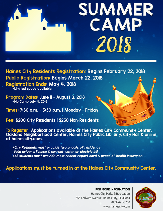 Picture of Summer Camp 2018 Flyer