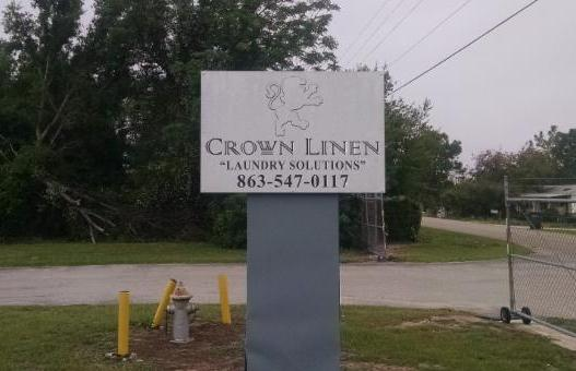 Picture of Crown Linen sign