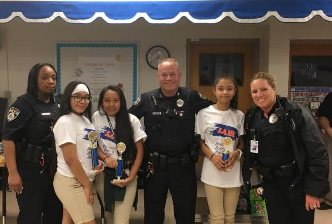 Picture of SRO's and S.A.V.E. Graduate winners