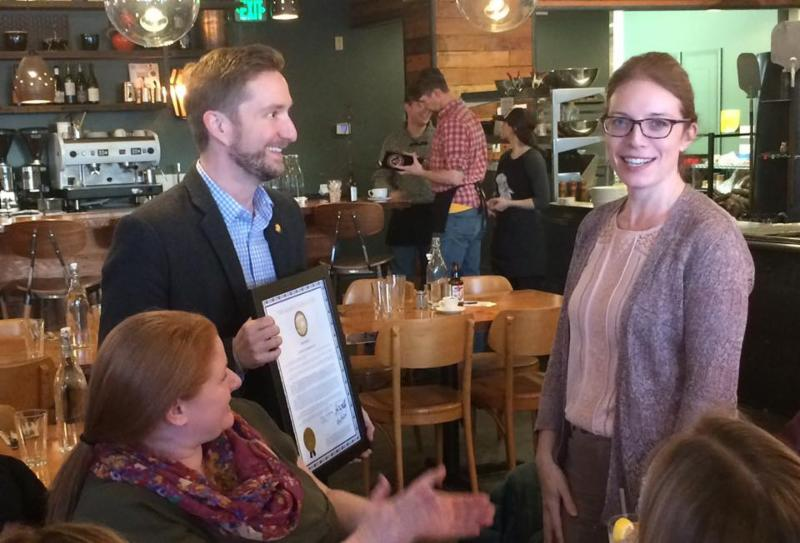 Honoring Jocelyn Pemberton