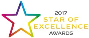 2017 Star of Excellence Awards graphic