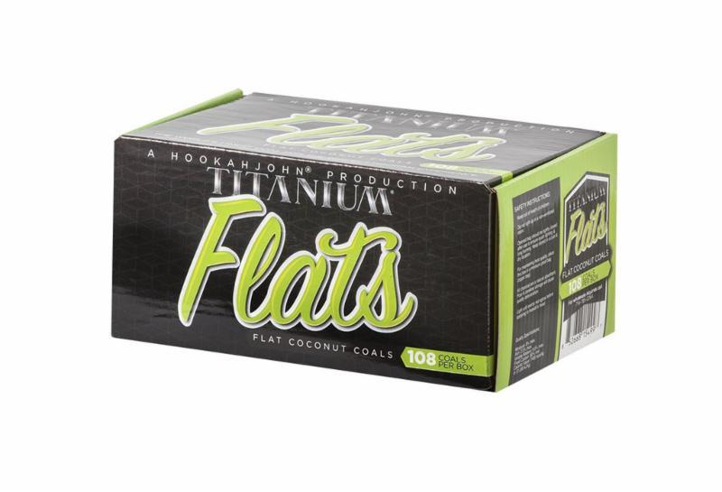 Titanium Flats 108pc Charcoals