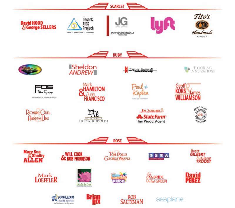 Sponsors for Red Dress Dress Red 2018