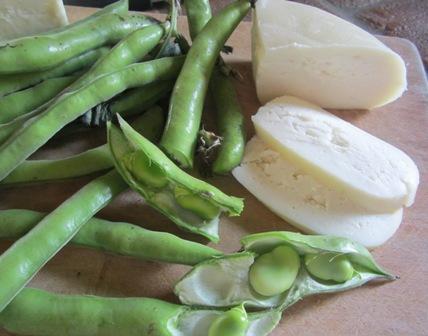 Pecorino e Fava Beans