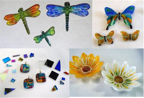 Schedule one of these projects during your next light garden glass workshop!