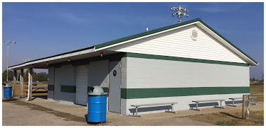 Repainted Concession Stand