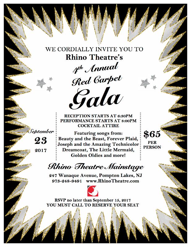 Nj arts maven red carpet gala invitation to join the rhino nj arts maven red carpet gala invitation to join the rhino theatre club stopboris Images