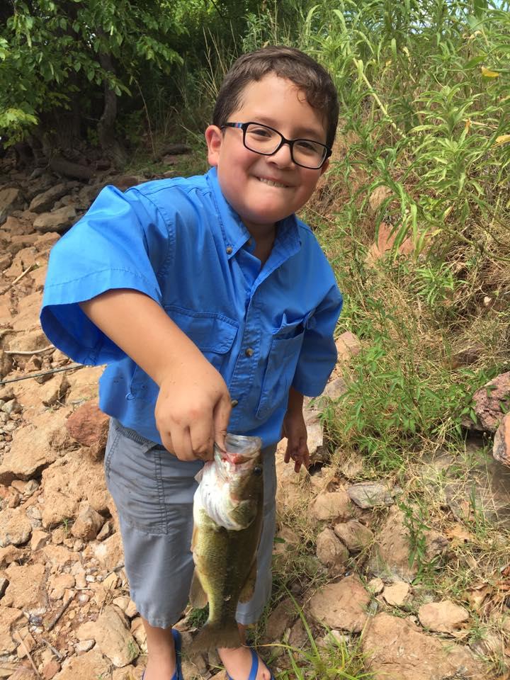 Oklahoma fishing report for Lake hefner fishing