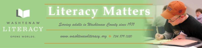 Literacy Matters Banner