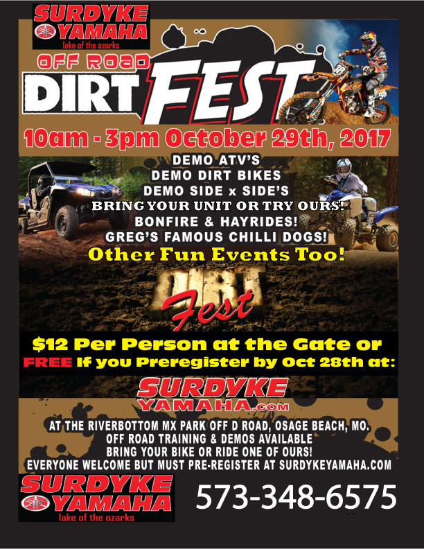 Signup for DirtFest 2017!