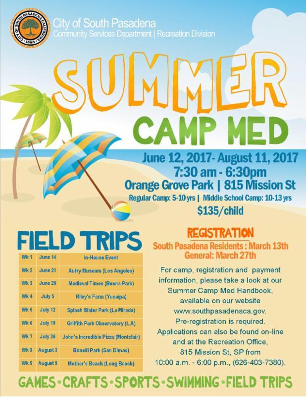 Summer Camp Med 2017