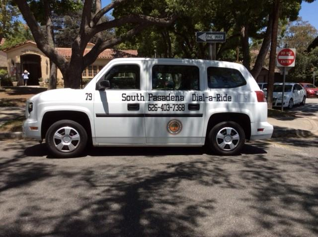 dial a ride van