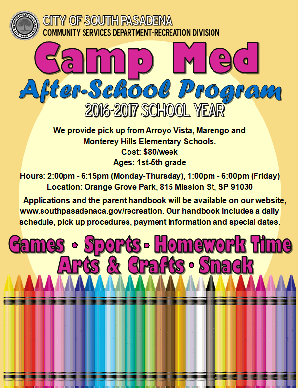 Camp med after school 2016 and 2017