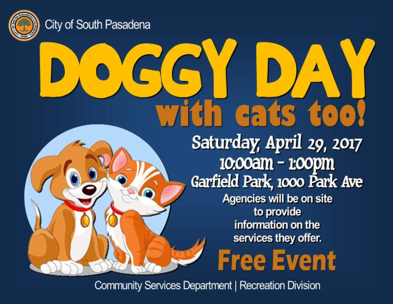 Doggy Day with Cats too 2017
