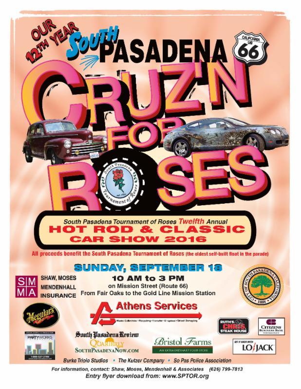 Cruz_n for Roses Flyer