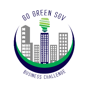 Go Green business challenge SGV logo