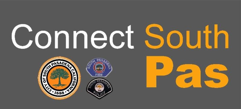 Connect South Pasadena - the City's emergency notification system