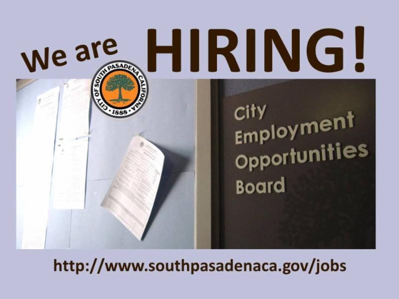 Link to City Employment Opportunities