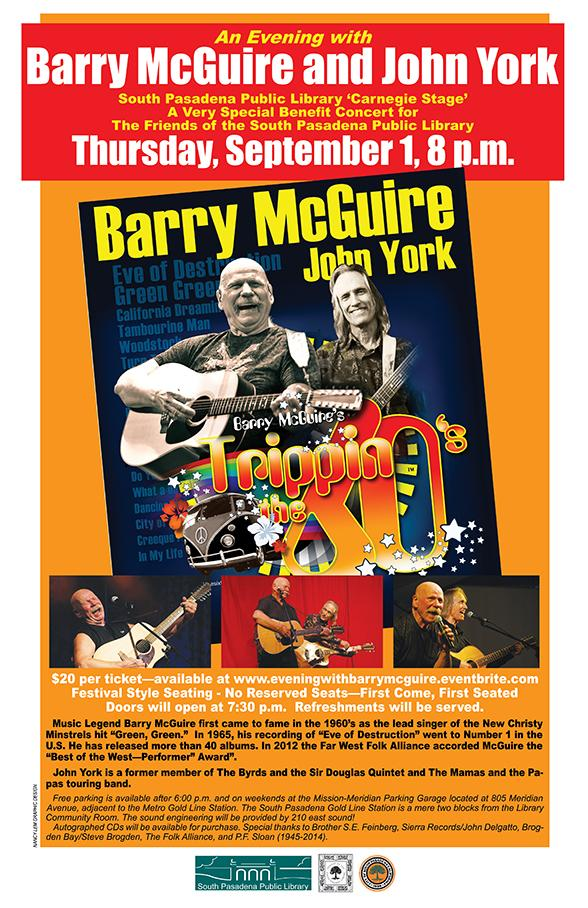 Barry McGuire Concert