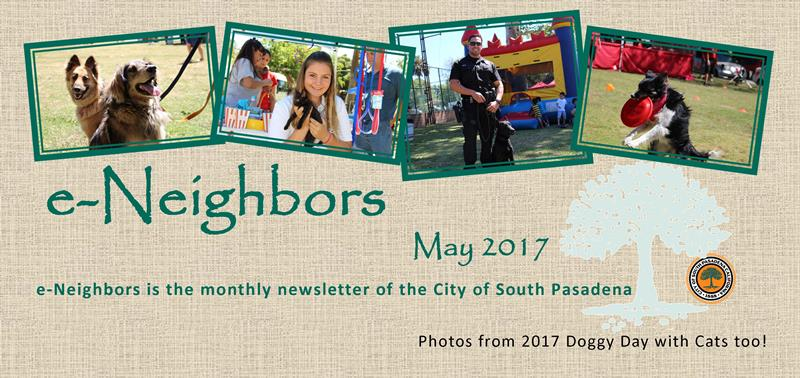 e-Neighbors Newsletter - May 2017 Edition - Photos from the 2017 Doggy Day with Cats too_