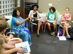 Chitra Banerjee Divakaruni with Clemson University_s First Year Experience